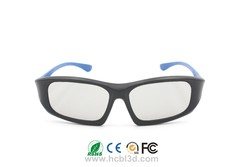 Customized Polarized 3D Glasses einzigartiges Design für 3D-Kinos