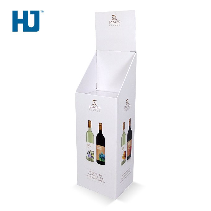 Cardboard Dump Bins Drink and Beverage Cardboard Display For Retail Promotion