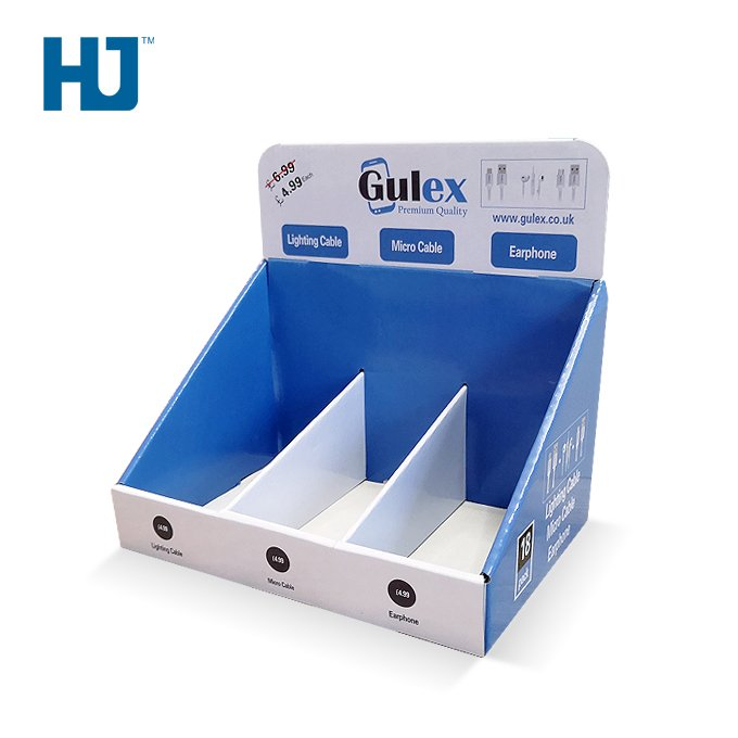 Counter Display Box  Earphone / Micro Cable / Stand for Supermarket and Exhibition