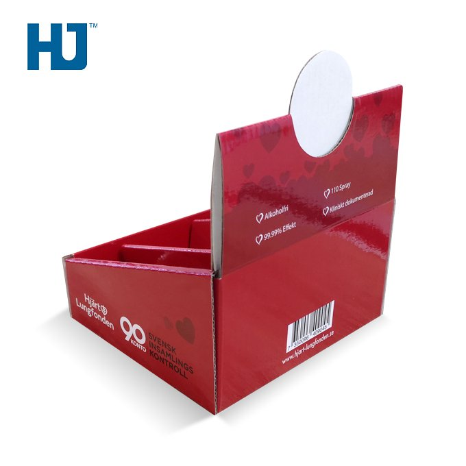 Vape E-liquid Counter Display Box Retail Cardboard Display Customized Counter