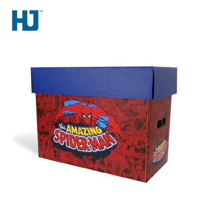 Toy Doll Gift Cardboard Packing & Display Box Super Hero Carrying Box
