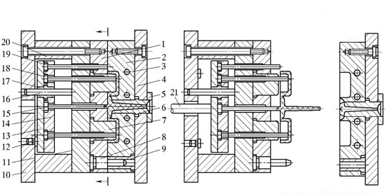 injection mold draft img.