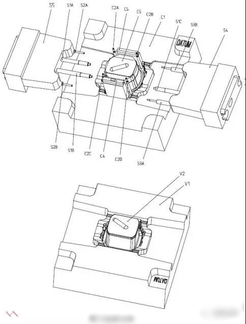 Smart watch shell injection mold design