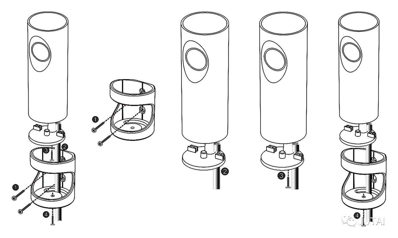 how to install the beam sensor