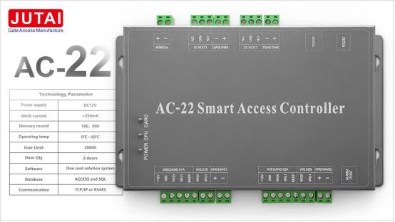 Système de contrôle d'accès automatique à canal unique