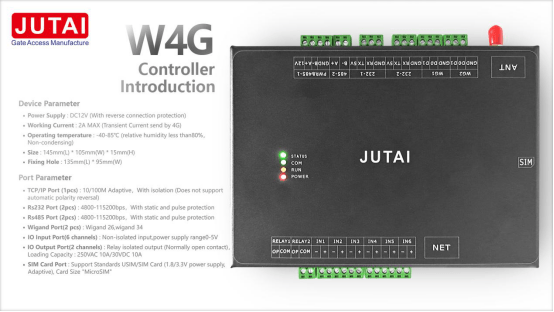 New Concept JUTAI Clouds Visitor Management System
