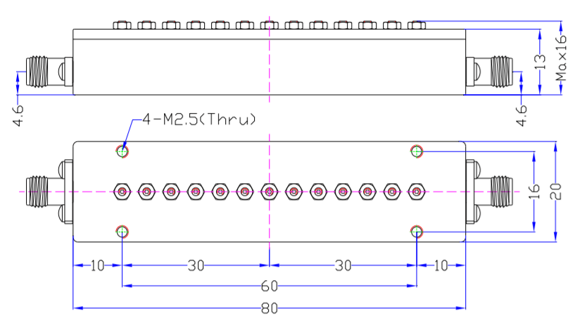 Band Pass Filter EBP-4E7-4E9