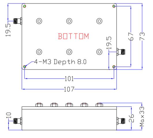 Band Pass Filter EBP-1E42-1E44