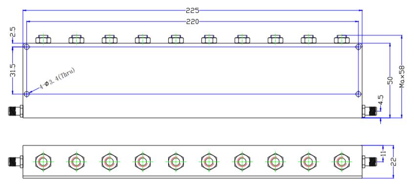 Band Stop Filter EBT-1E71-1E78
