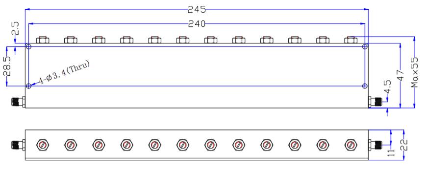 Stop Stop Filter EBT-2E01-2E025