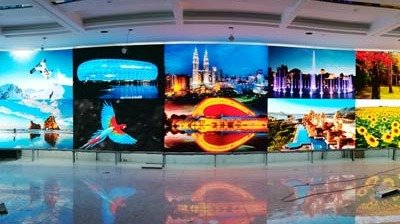 Fine-pitch P1.2mm Curved Indoor LED Display for Inner Mongolia Public Security Bureau