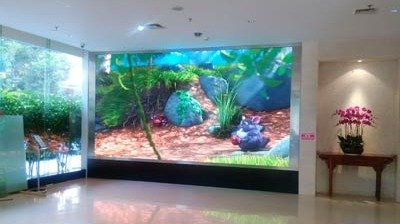 Fine-pitch P1.9mm Indoor LED Display for China Tobacco Import and Export Corporation