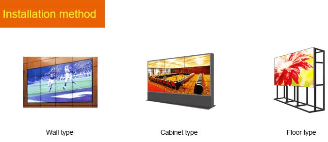 49 inch LCD video wall