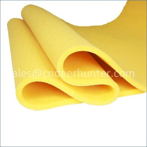 Open Cell Silicone Sponge Sheet High Temperature Foam Rolls For Ironing Table And Steam Pressing Machine