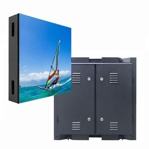 P4 Outdoor Led Panel Signs Clear HD Video Wall 16 Bits With Front Service