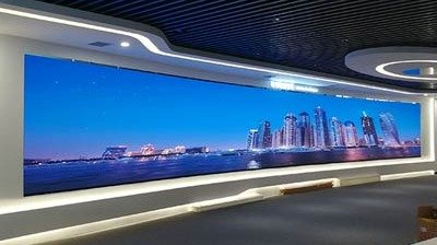 LianTronics PH1.4mm Fine-pitch LED Curved Screen for A Cloud Data Center