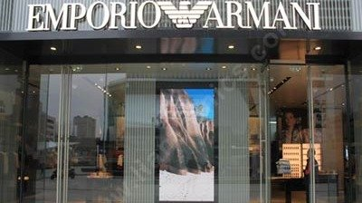 Indoor LED Display for Armani Store in Chengdu