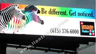 Outdoor Full Color LED Display in Tennessee, USA