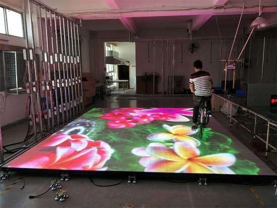 LED Floor Display and Traditional LED screen?