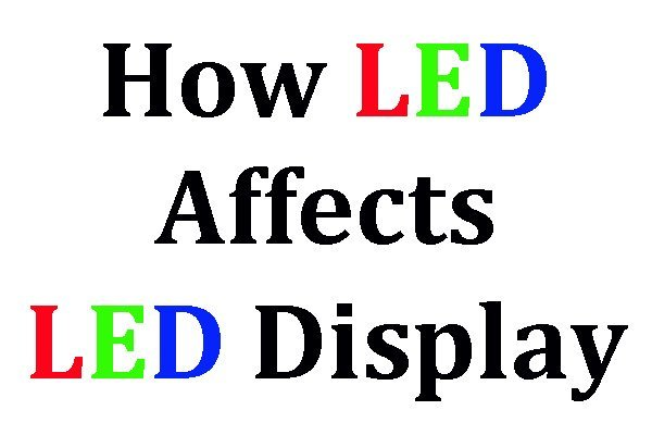 LED Lamp Effects on LED Display Screen --- 8 Aspects
