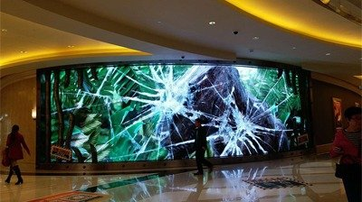 LianTronics FC3 LED Video Wall Installed in Studio City, Macau