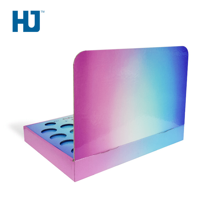 Customized Mini Music Audio Counter Top Display Rack Box For Electronic City Store