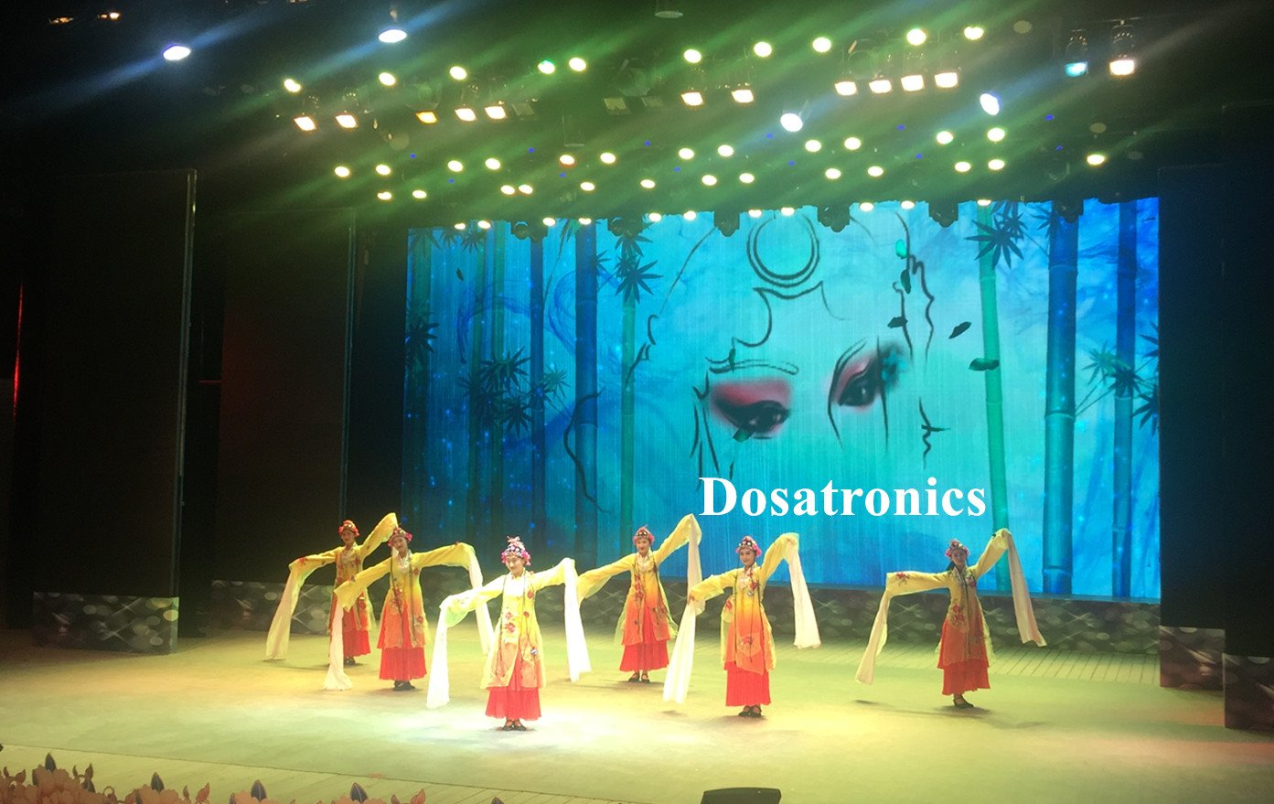 outdoor LED display rental