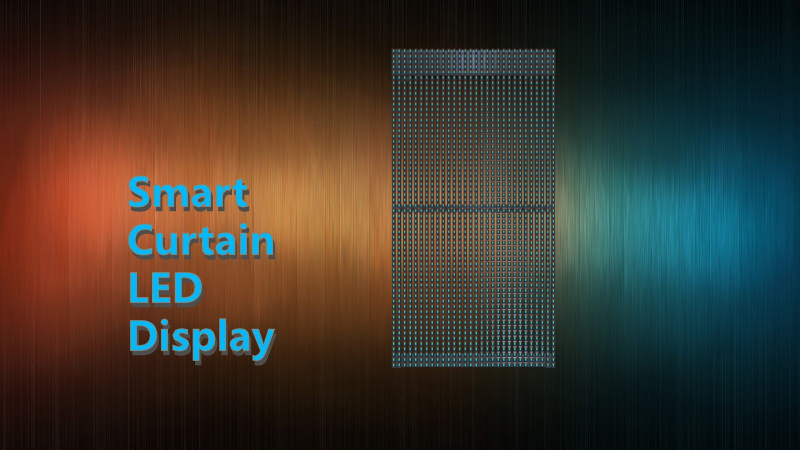 Ultra Thin P15.625 led mesh advertising led panel