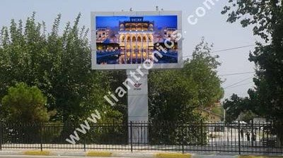 LianTronics FS8 SMD Advertising LED Displays for TCDD Project in Turkey
