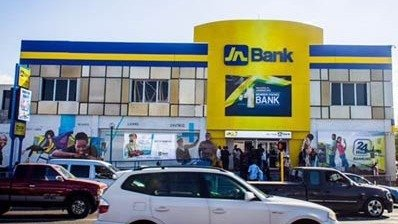 LianTronics R4T, FS6 and FS8 LED Screens Advertise in the bank of Jamaica
