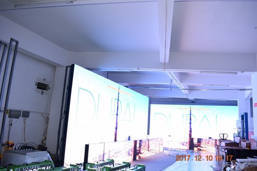 Outdoor LED Video Wall of High Resolution P6 with Video Processor