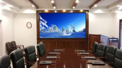 LianTronics VL1.9 Fine-pitch LED Display Successfully Break Into Pakistan High-end Video Conference Application Market