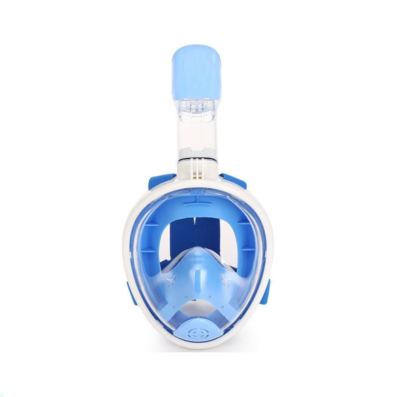 Durable Silicone Seal Head Snorkel Mask One - Piece Drag Reduction For Children