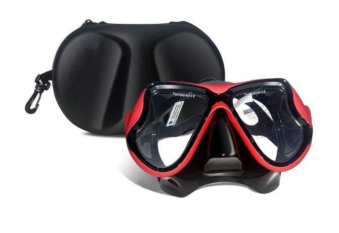 No Chemical Effect Womens Snorkel Mask , Mens Diving Mask Anti - Scratch