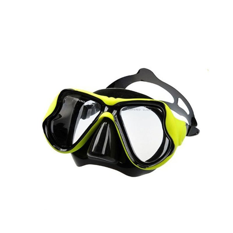 Camera Mount Optical Snorkel Mask , Swimming Goggles With Nose Cover
