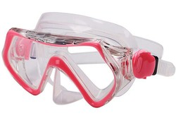 Kids Prescription Swim Mask Snorkeling Gear For Kids Shatter / Scratch Resistant