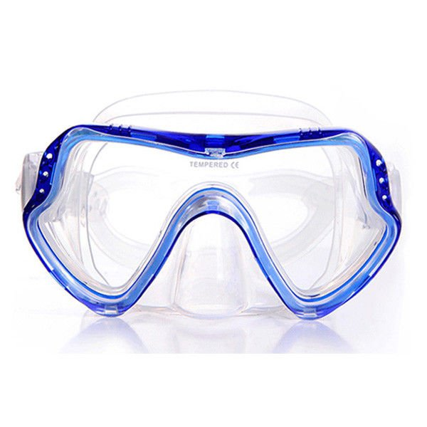 Comfortable Skirt Snorkeling Gear Mask One Piece With Easily Adjusted Buckles