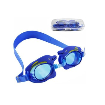 Non-slip Double Strap Kids Prescription Swim Goggles Aangepaste Logo afdrukken