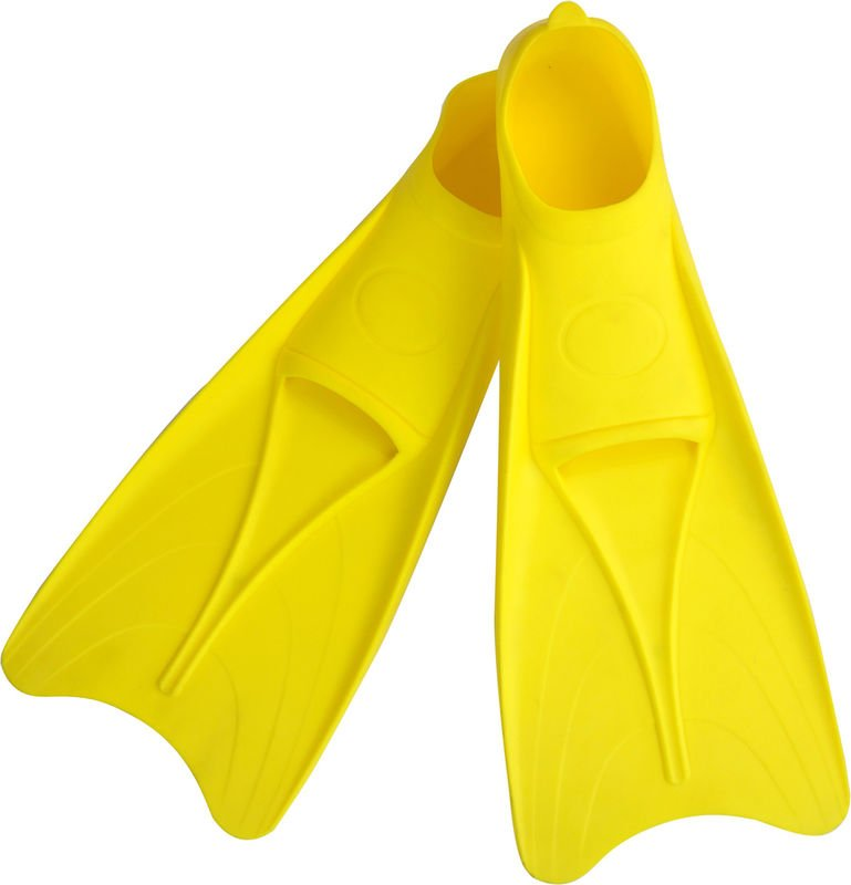 Durable Small Snorkel Fins , Lightweight Diving Fins For Kids Various Colors