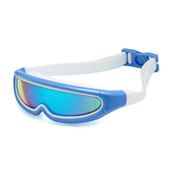 Childrens / Kids Swimming Goggles With Clear Vision / One Piece Lens