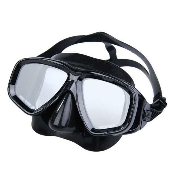 Anti Fog Adult Diving Mask With Optical Lens , Professional Silicone Diving Mask
