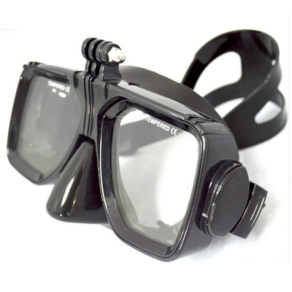 Free Diving Adults Flexible Silicone dive mask with Tempered Glass Lens