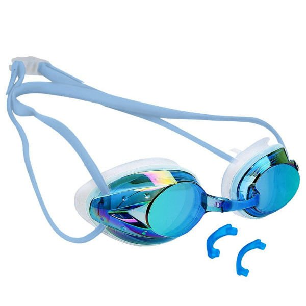 Waterproof Silicone Adult Racing Swimming Goggles For Competition