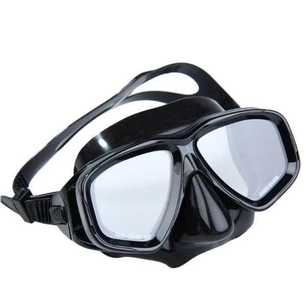 Optical Lens Professional Diving Mask , Anti Fog Diving Snorkel Mask PC Frame