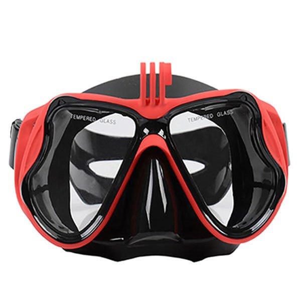 Snorkel Diving Swim Mask Adult , Gopro Mount Myopia Swimming Dive Mask Anti Fog