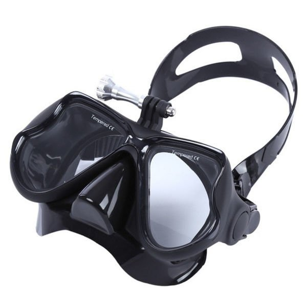 Tempered Glass Optical Snorkel Mask , Swimming Mask With Nose Cover LM1800