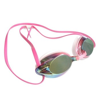 UV-bescherming Mirrored Racing Zwembril Dames Waterproof Anti-Fog