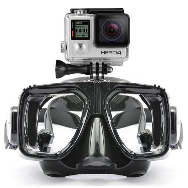 Waterproof Scuba Diving Mask Customized Logo With Camera Gopro LM5352