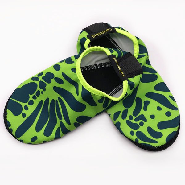 Unisex Water Sport Shoes Comfortable Fabric For Snorkeling / Surfing