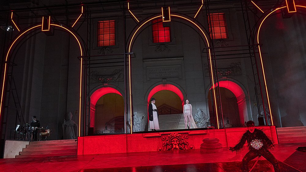 LianTronics Rental LED Display Lights up Salzburg festival, Austria